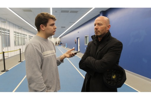 SHEARER CHALLENGES SPORT STUDENTS