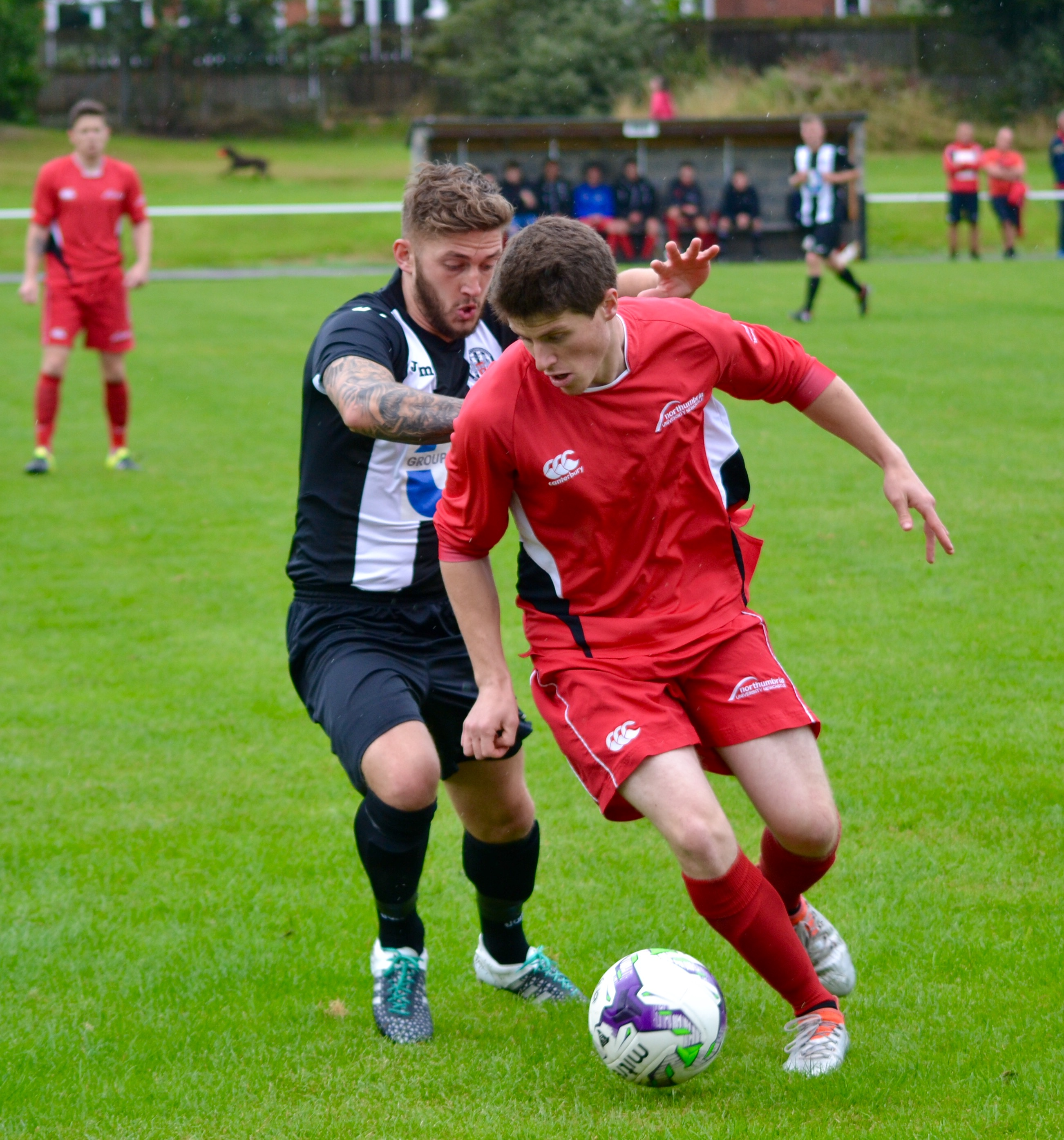 Six-Goal Thriller Nets Northumbria A Draw