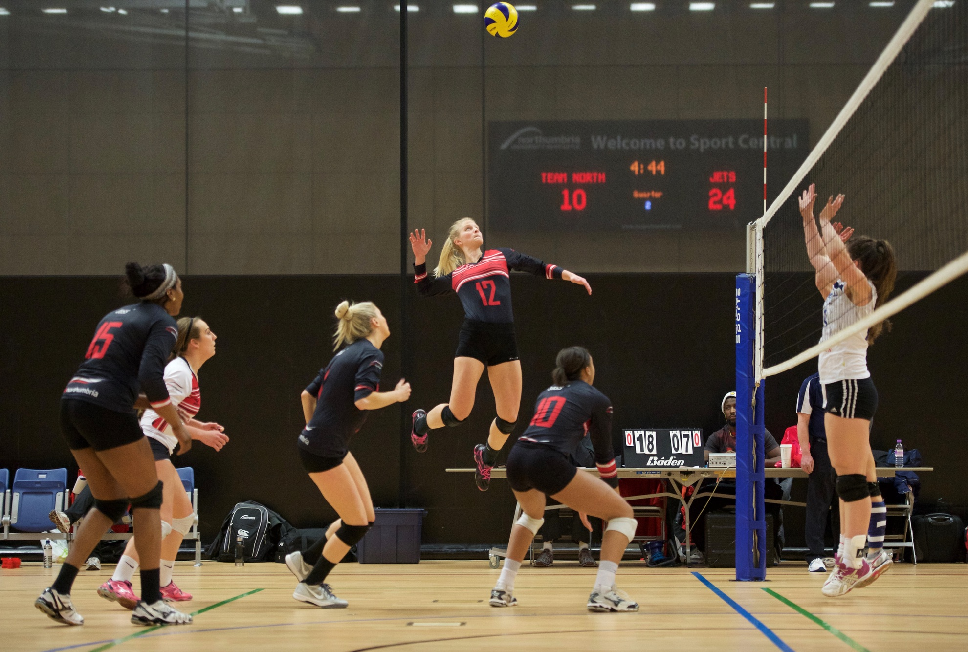 Four-some Northumbria Put Rivals To Sword