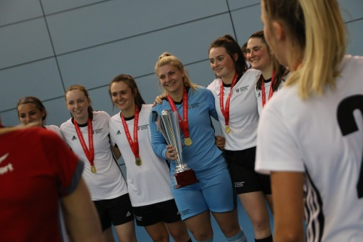 Saving Grace | Futsal Captain Grace Donnelly selected as Student Sport President