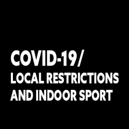LOCAL RESTRICTIONS | Indoor Sport Club and Social Sessions Currently Postoned