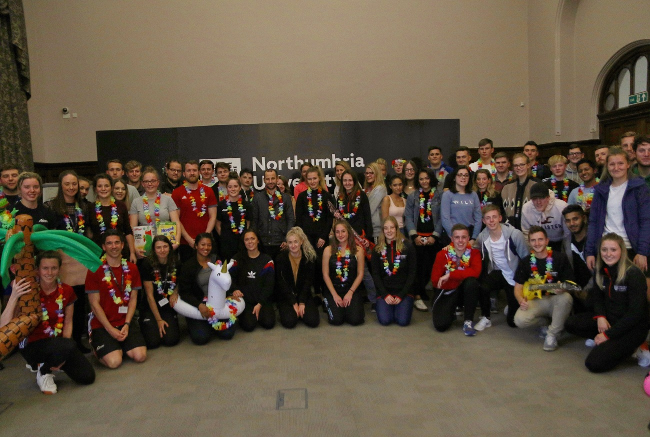 NORTHUMBRIA CELEBRATES SUPER VOLUNTEERS