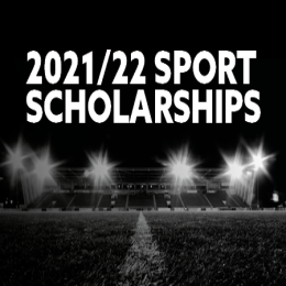 SCHOLARSHIP APPLICATIONS FOR 2021/22 ARE NOW OPEN