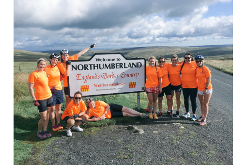 Pedal Power Boosts Northumbria Sport Foundation