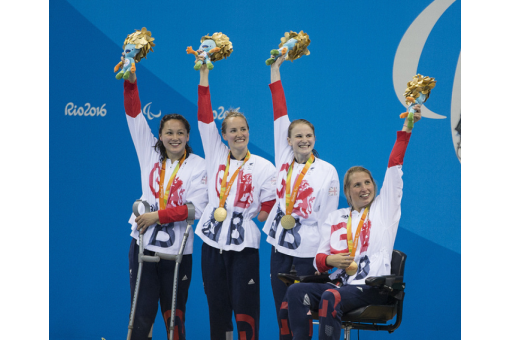 Paralympic glory for Northumbria's swimmers
