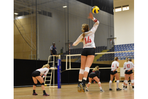 Tianjin Teach Northumbria Volleyball Lesson