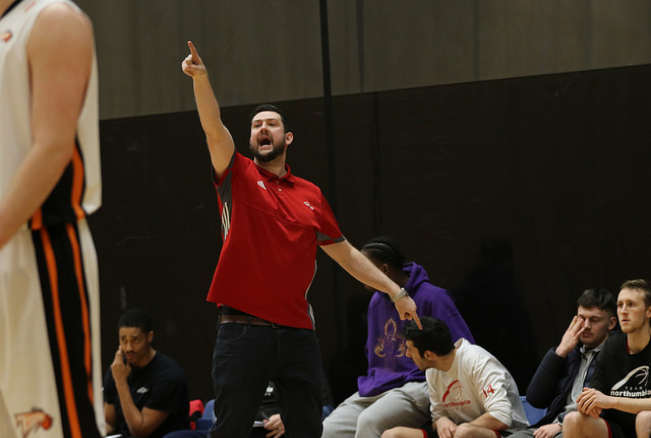Northumbria Coach Makes His Marc