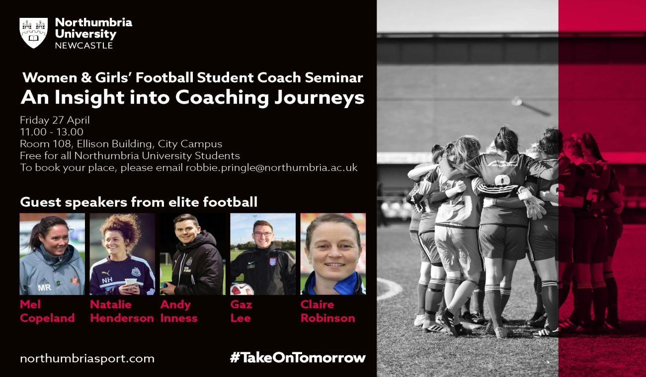 Northumbria Sport : Events : Women & Girls' Football